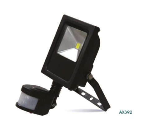 Amitex PIR LED Floodlight with Override Facility (10W to 30W) - LED Bulb Centre Ltd
