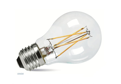 Amitex 7 Watt E27 Dimmable Filament GLS Lamp - LED Bulb Centre Ltd