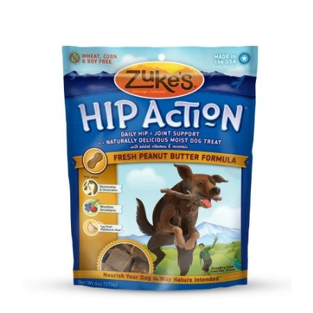 Zuke's Hip Action Peanut Butter Flavour
