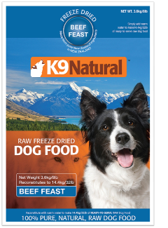 K9 Natural Beef Feast