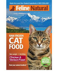 Feline Natural Chicken & Venison Feast Formula