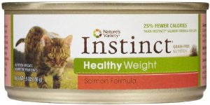 Nature's Variety Instinct Healthy Weight Salmon Cat Pate