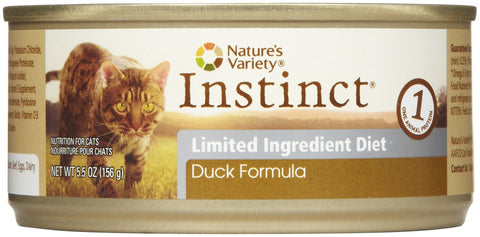 Nature's Variety Instinct Limited Ingredient Duck Pate for Cats