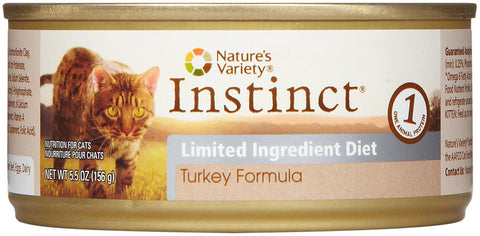 Nature's Variety Instinct Limited Ingredient Turkey Pate for Cats