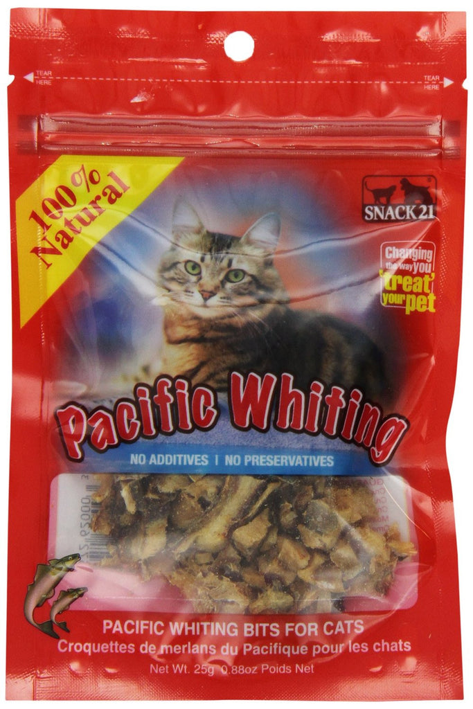 Snack21 Pacific Whiting for Cats