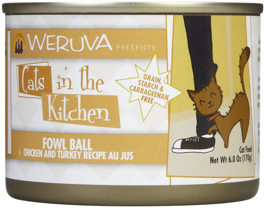 Cats In The Kitchen Fowl Ball Stew