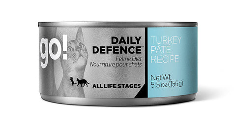 Go! Daily Defense Turkey Cat Pate