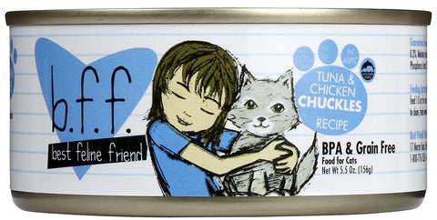 Best Feline Friend Tuna & Chicken Chuckles Stew