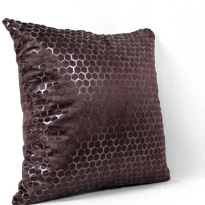 Marbles Dark Brown Cushion Covers