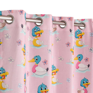 Duckland Pink Curtain
