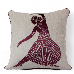 Moksha Meroon Cushion Covers