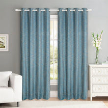 Load image into Gallery viewer, Maharaja  Teal Blue Curtain