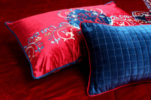 Sequence Red Bedcover