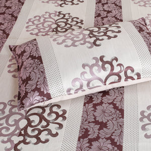 Twinning Thread Mauve Bedcover