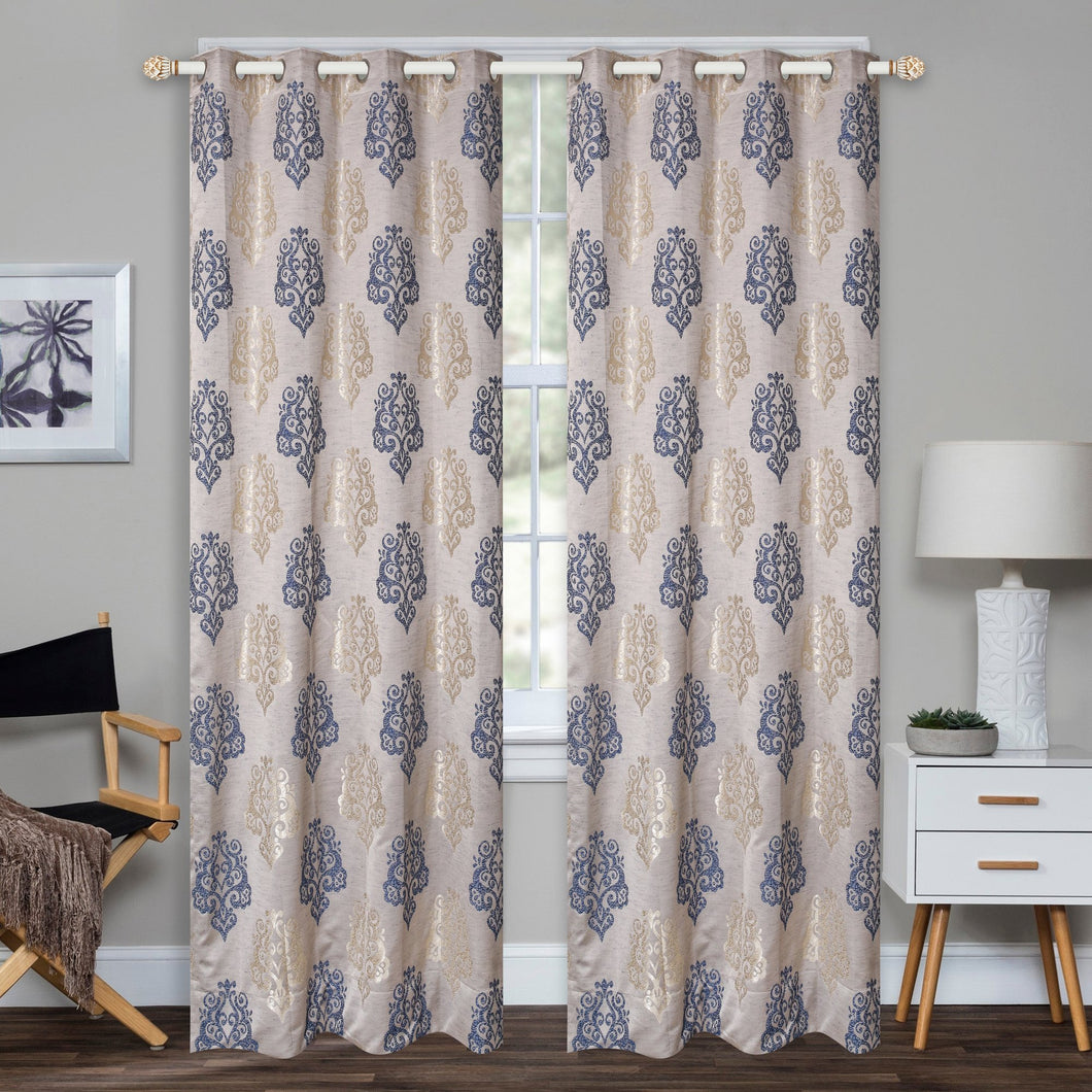 Badin Blue Curtain