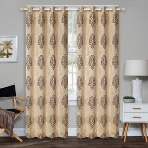 Badin Brown Curtain