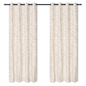 Maize Offwhite Curtain