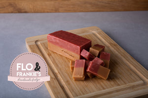 Strawberry and Cream Fudge