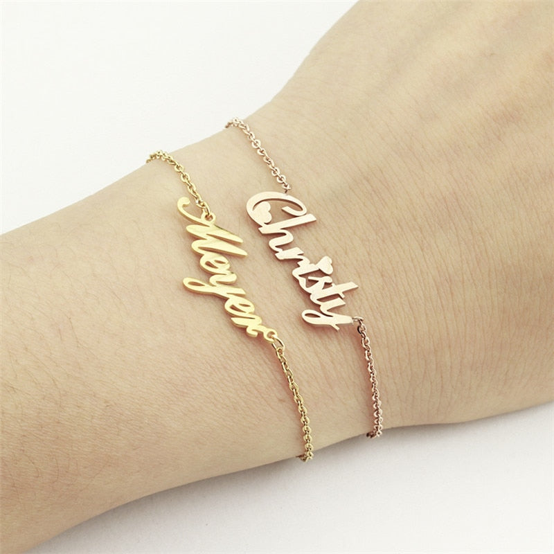 Personalized Charm Custom Bracelet for Women - Necklacescharm