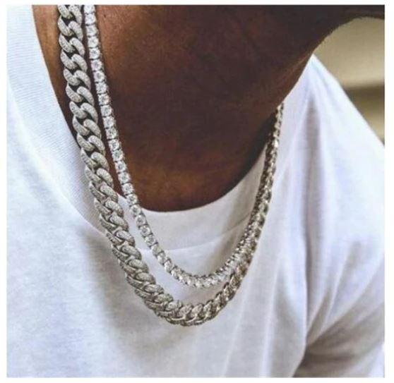 GOLD RAINMAKER 12MM CUBAN CHAIN FOR MEN - Necklacescharm