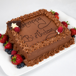 Chocolate Buttercream Cake - A Slice of Life_1