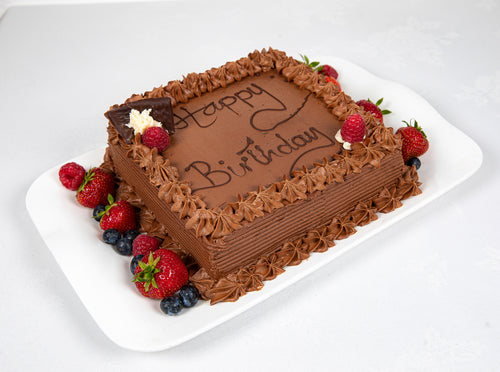 Belgian Chocolate Biscuit Cake
