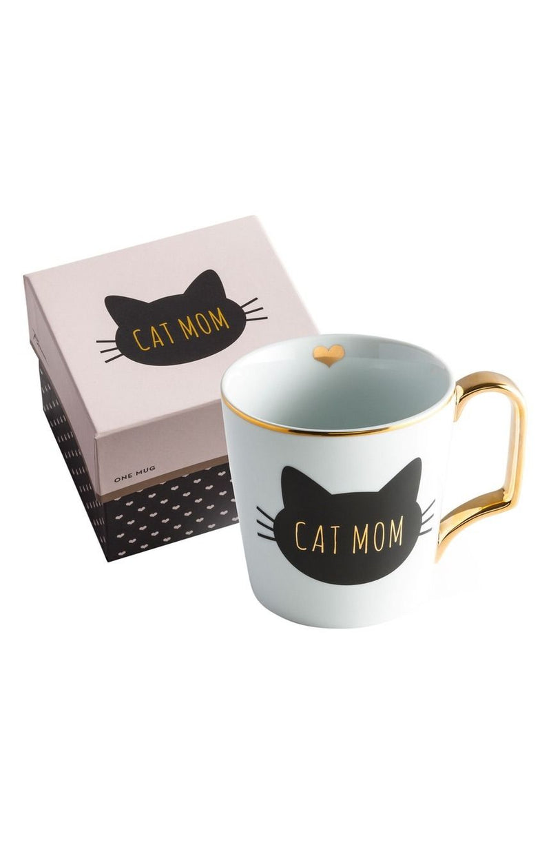 "Taza ""Cat mom"""