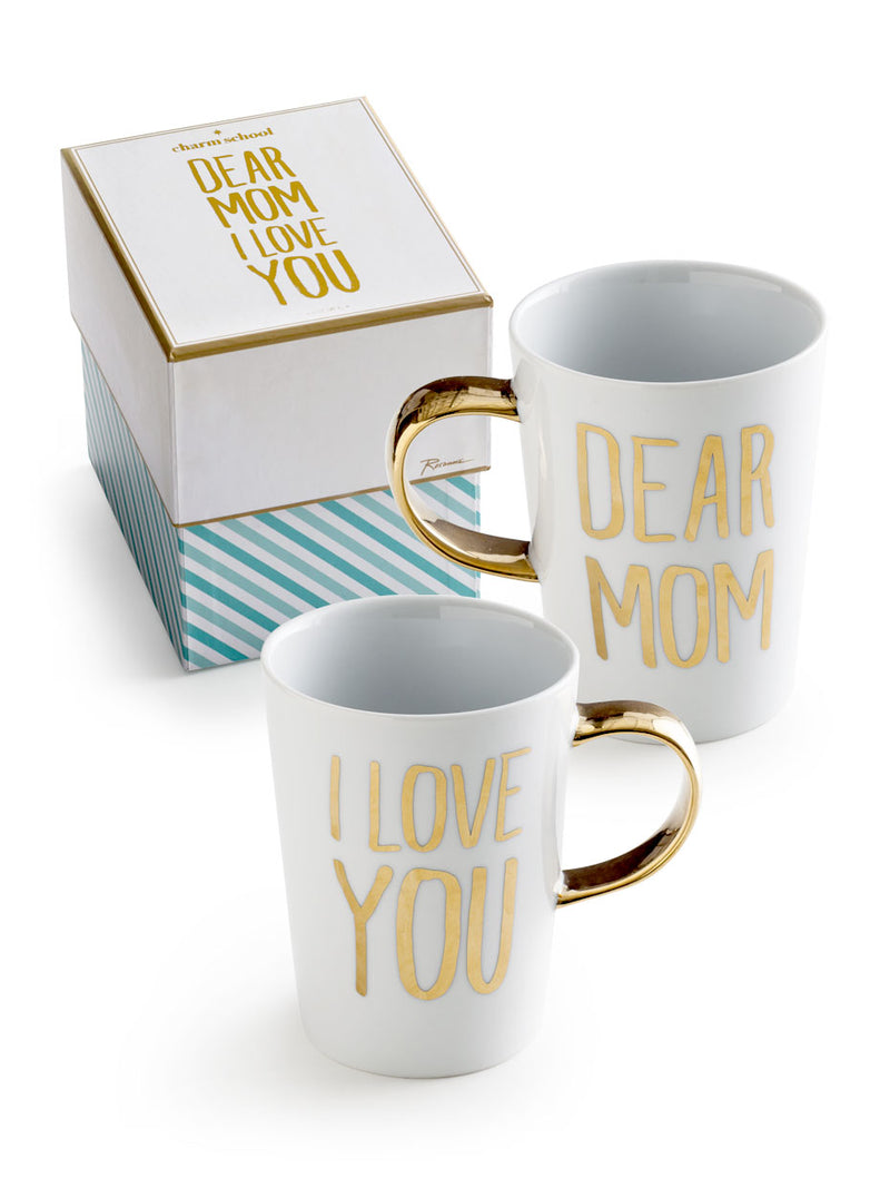 "Taza ""Dear mom I love you"""