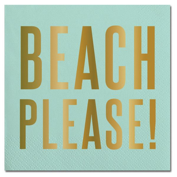 "Servilleta Calipso ""Beach Please"""