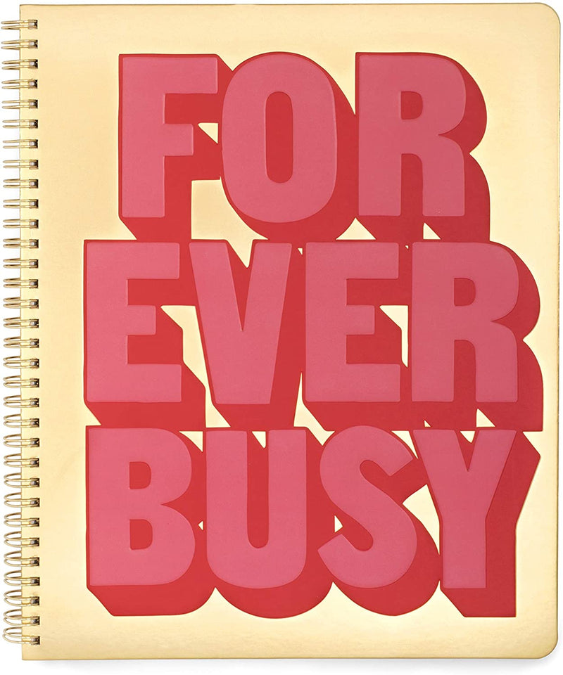 "Cuaderno ""Forever busy"""
