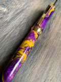 Purple and Gold Twist Pen
