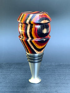 Dyed Wood Bottle Stopper