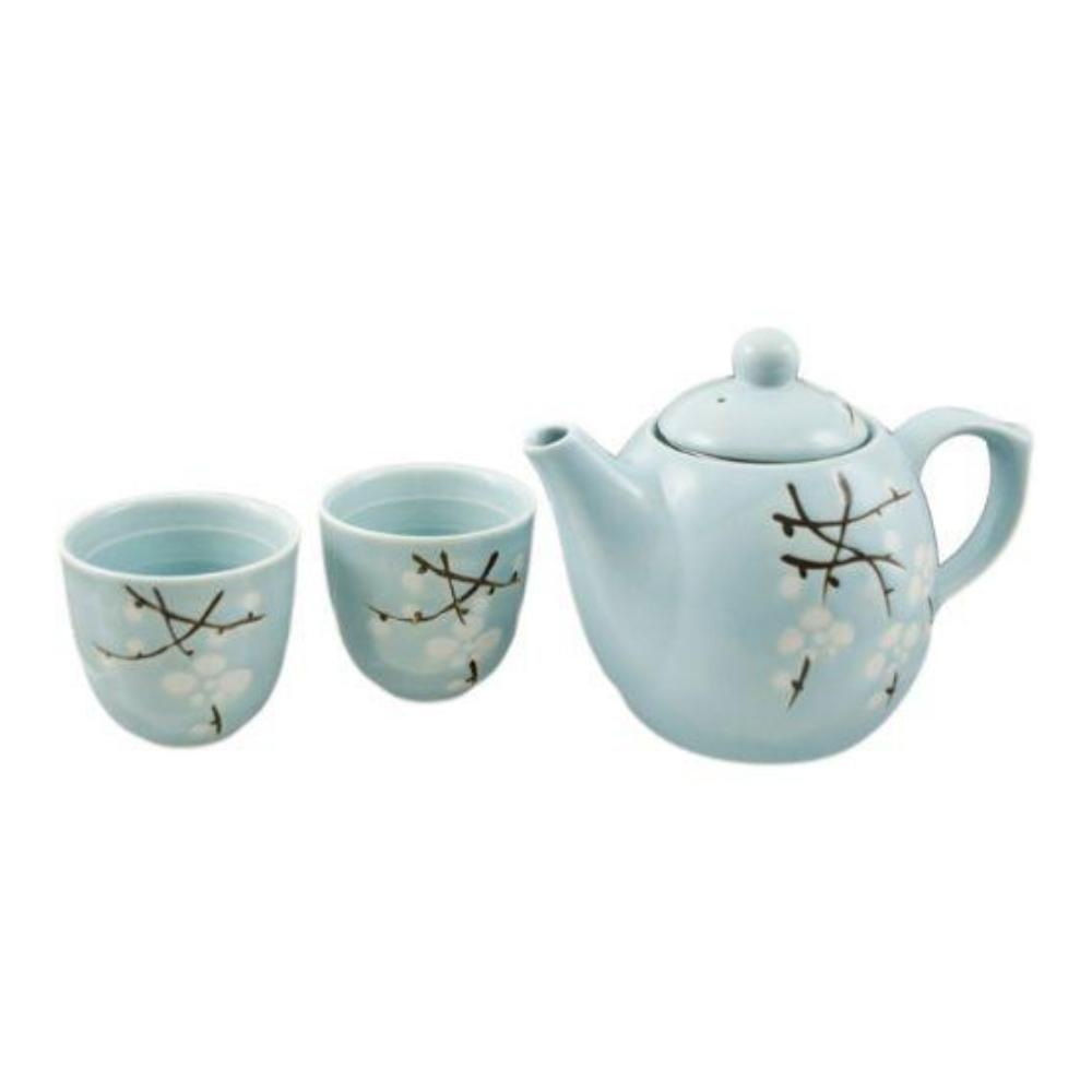 Set de té cerezos