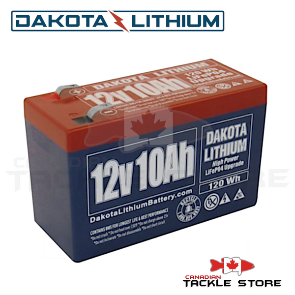 Dakota Lithium 12V 10 AH Battery
