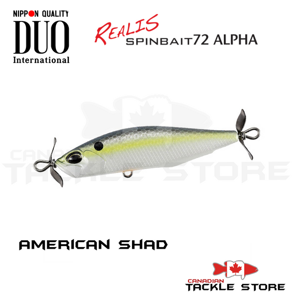 Duo Realis Spybait 72 ALPHA