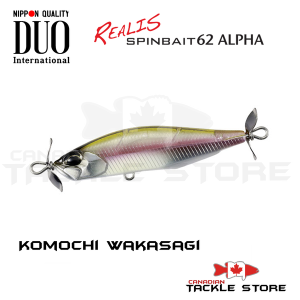 Duo Realis Spybait 62 Alpha