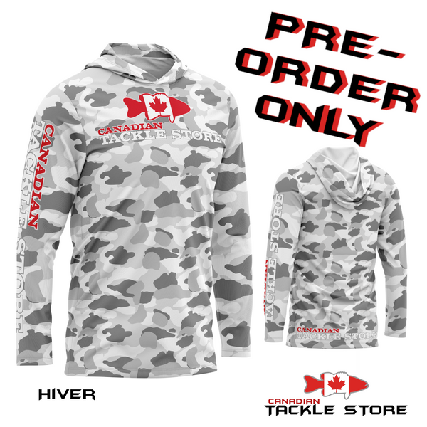 Canadian Tackle Store Supremacy Summer Hoodies - SEASON TWO