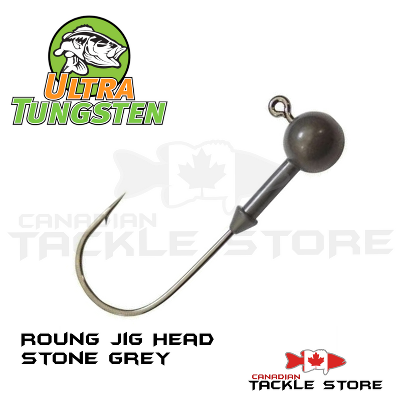 Ultra Tungsten Round Jig Head