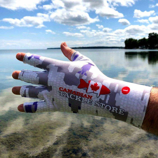 Canadian Tackle Store UV Fingerless Gloves