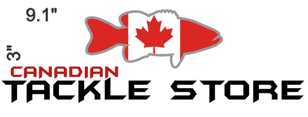 Canadian Tackle Store Bumper Sticker