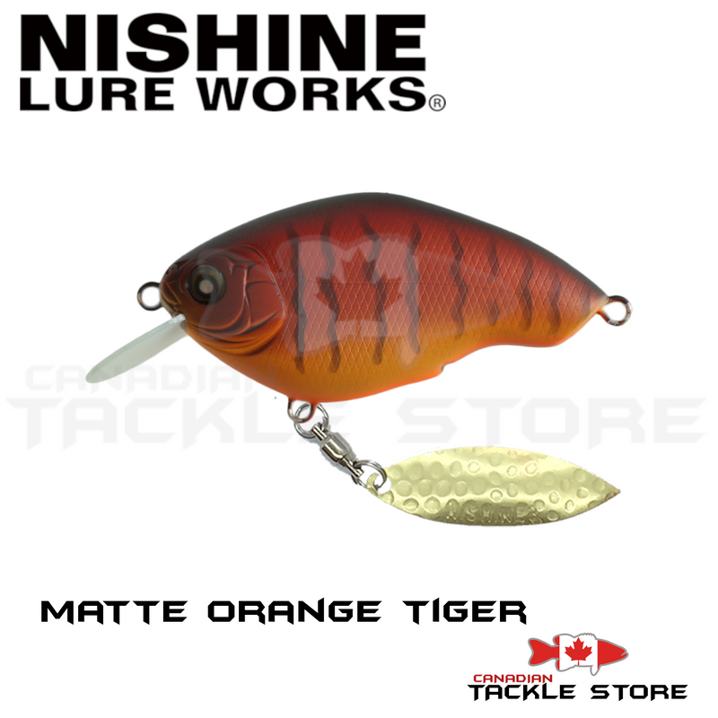 Nishine Lure Works Chippawa RB Blade Model