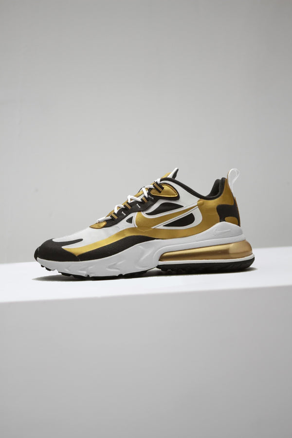 "AIR MAX 270 REACT ""METALLIC GOLD"""