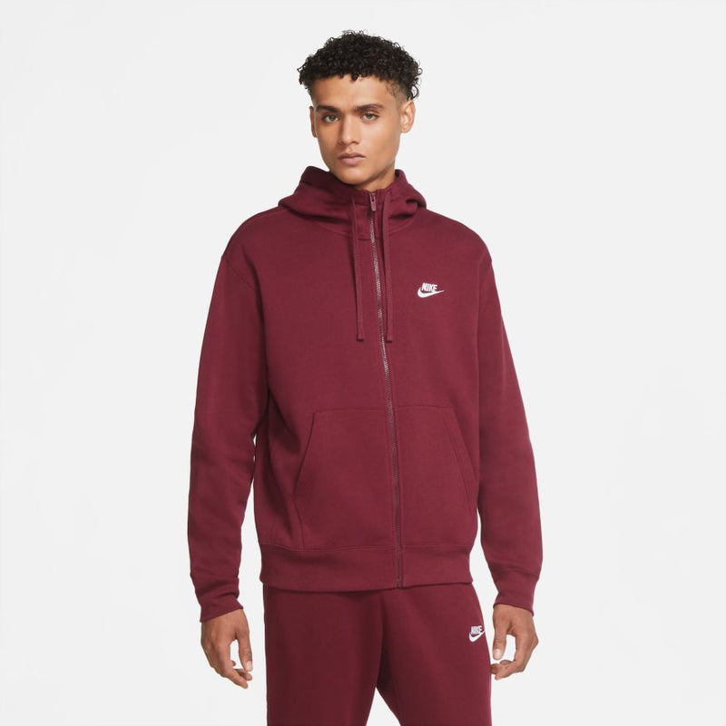 "NSW CLUB FLEECE FULLZIP ""BEETROOT"""