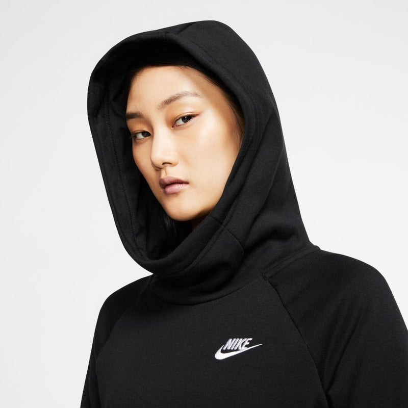 "W ESSENTIAL FUNNEL NECK PULLOVER ""BLACK"""