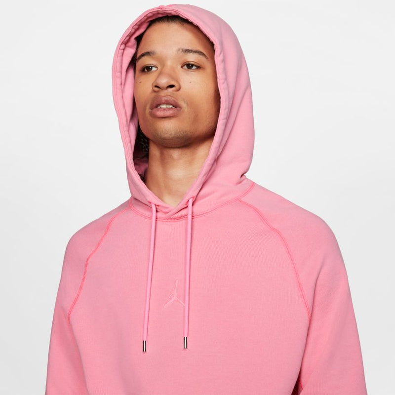 "AIR JORDAN WASHED FLEECE PULLOVER ""DIGITAL PINK"""
