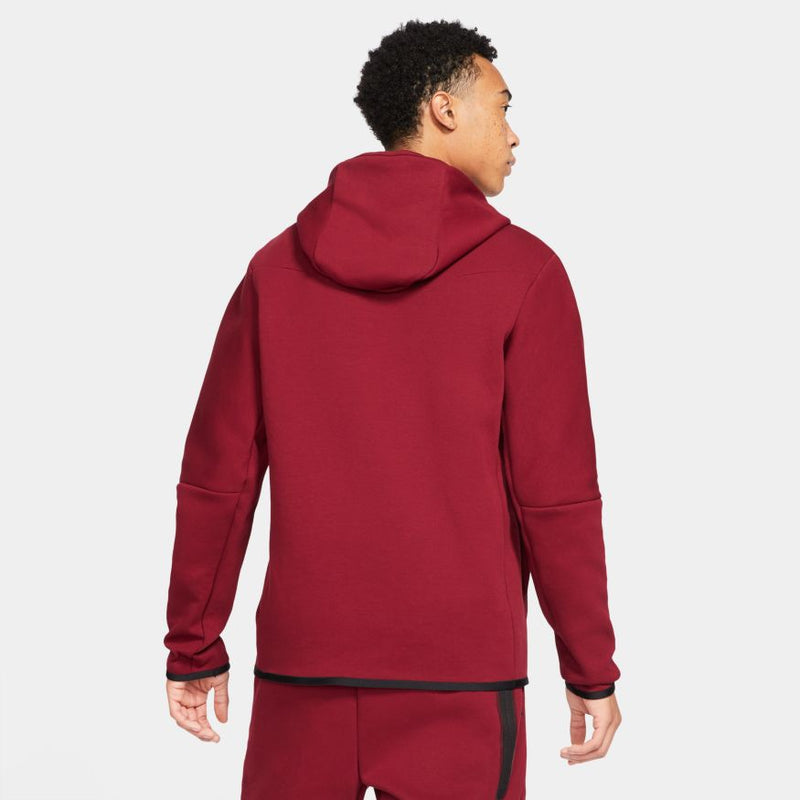 "NSW TECH FLEECE ZIP UP ""TEAM RED"""