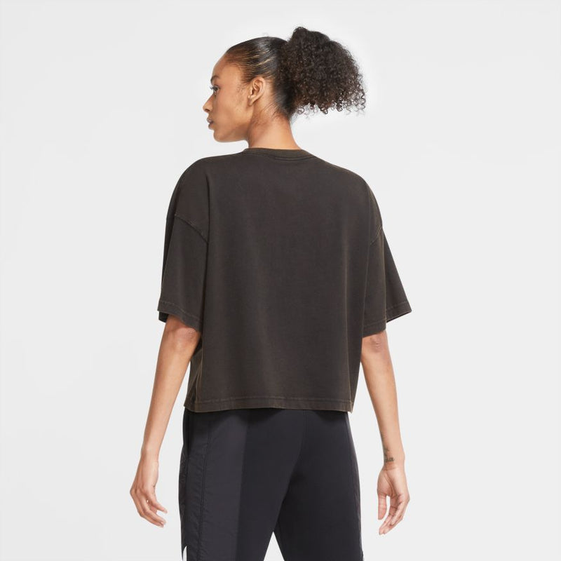 "W ESSENTIAL BOXY T-SHIRT ""BLACK"""