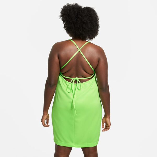 "W NSW ICON CLASH DRESS ""LIME GLOW"""
