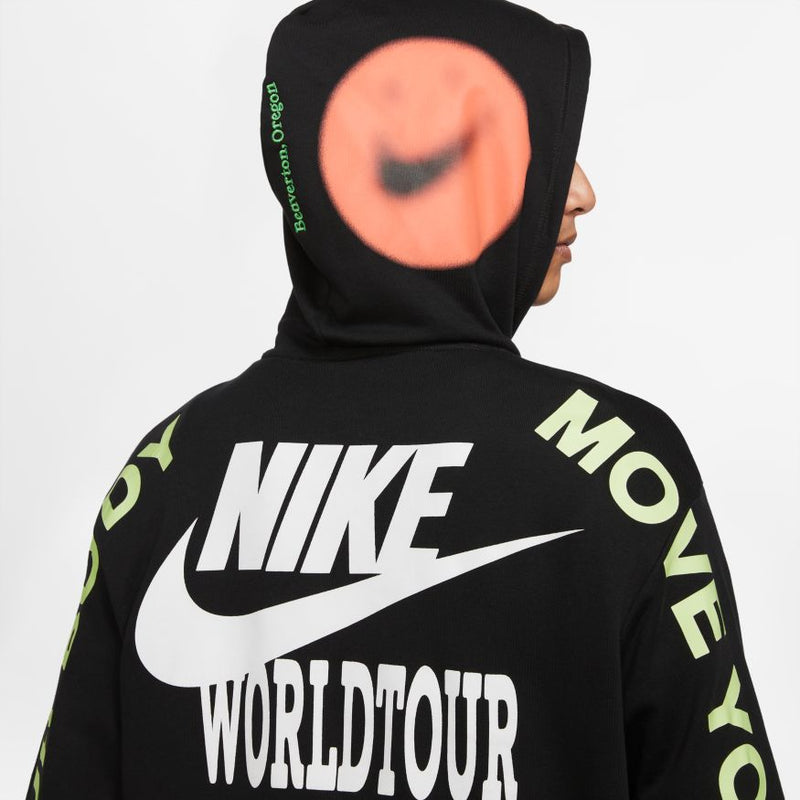 "NSW WORLD TOUR PULLOVER ""BLACK"""