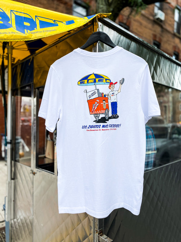 "NSW SOLE FOOD TEE ""WHITE"""